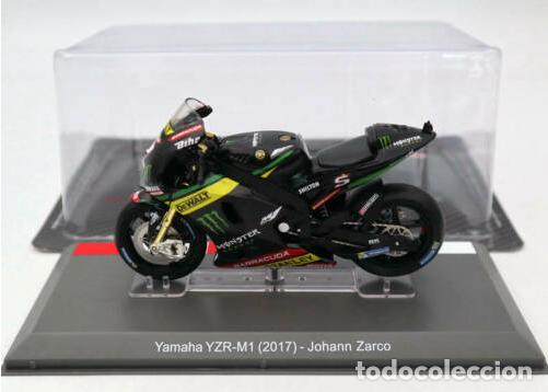 Motos a escala: MOTO GP 2017 - JOHANN ZARCO - YAMAHA YZR-M1- IXO, Altaya / N8 (Escala 1:18) - Foto 2 - 218716211