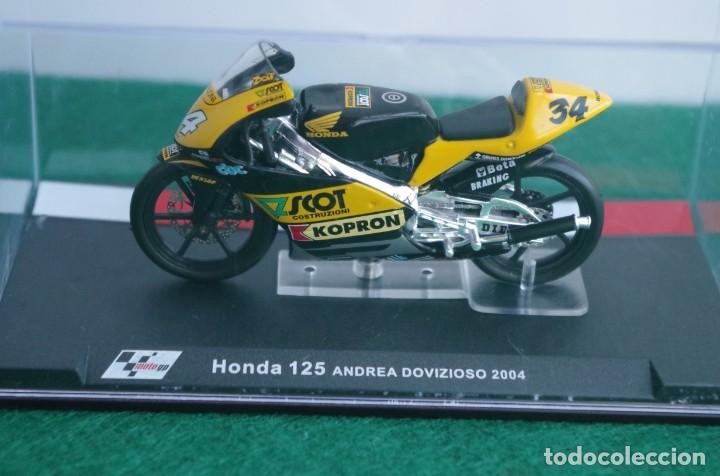 HONDA 125 - ANDREA DOVIZIOSO 2004 -1/24 (Juguetes - Motos a Escala)
