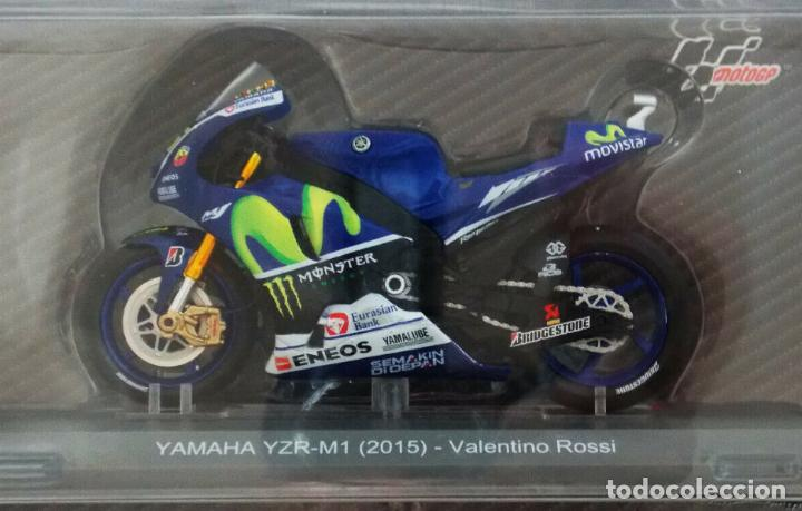 MOTO GP 2015 - VALENTINO ROSSI - YAMAHA YZR-M1 - IXO, ALTAYA / N1 (ESCALA 1:18) (Juguetes - Motos a Escala)