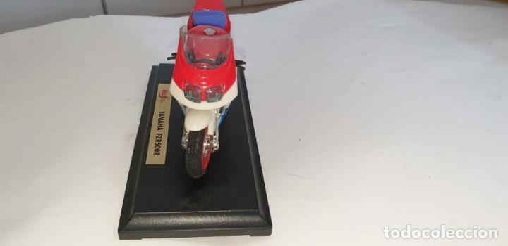 Motos a escala: MAISTO YAMAHA FZR600R MOTOCICLETA PLASTICO ESCALA SEGÚN FOTO - Foto 4 - 218781991