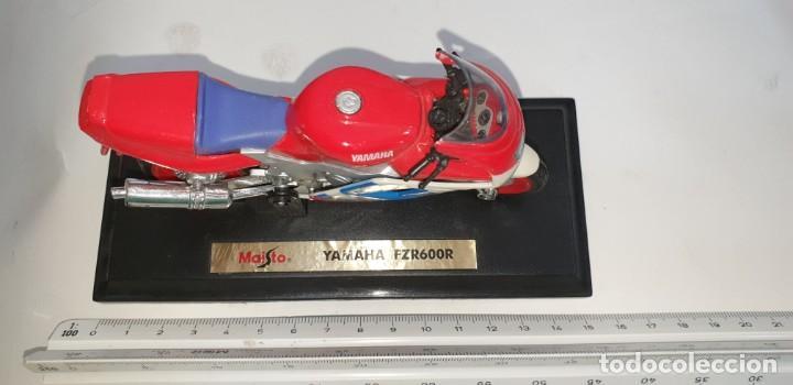 Motos a escala: MAISTO YAMAHA FZR600R MOTOCICLETA PLASTICO ESCALA SEGÚN FOTO - Foto 6 - 218781991