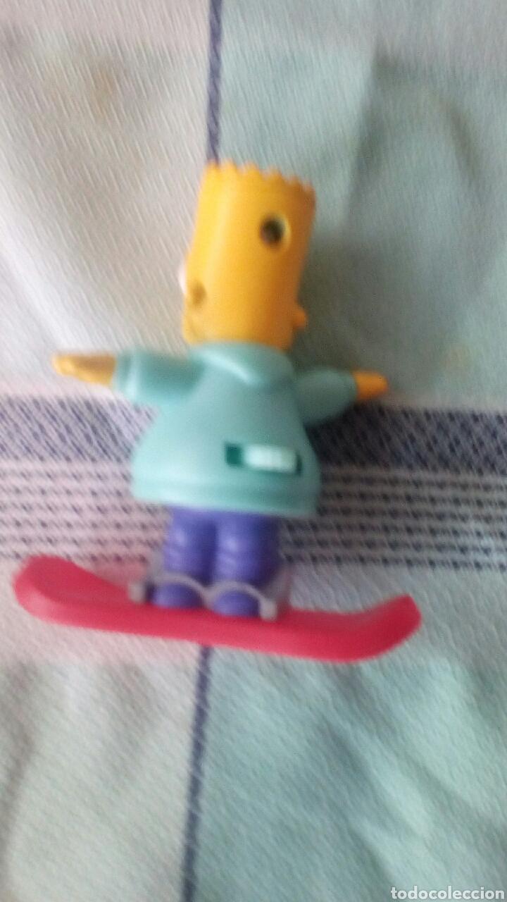 Motos a escala: Figura Bart Simpson en patinete articulado - Foto 2 - 219236455