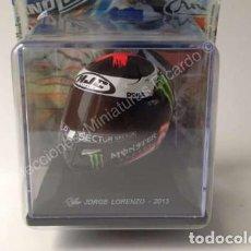 Motos a escala: CASCO JORGE LORENZO 2013 - LOS MEJORES CASCOS DE MOTO GP / MOTOGP - (ESCALA 1:5) IXO ALTAYA. Lote 219867193