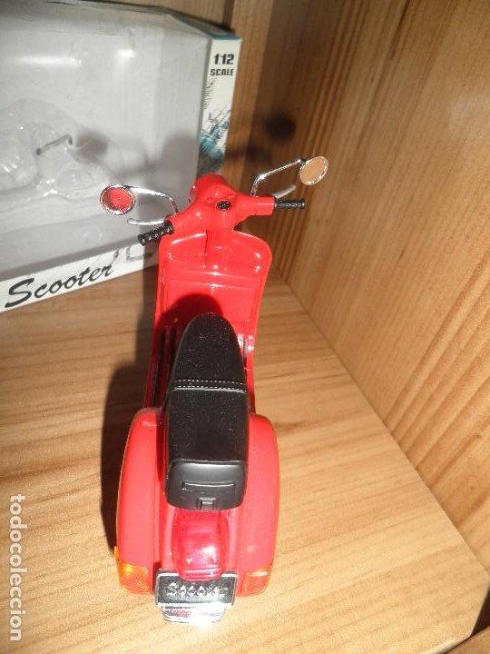 Motos a escala: SCOOTER,MOTORCYCLE,NEWRAY,ESCALA 1/12,EN SU CAJA. - Foto 5 - 220518202
