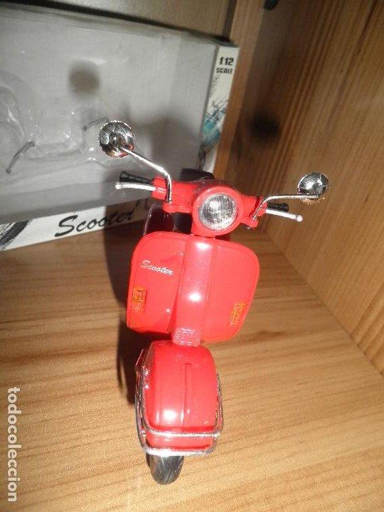 Motos a escala: SCOOTER,MOTORCYCLE,NEWRAY,ESCALA 1/12,EN SU CAJA. - Foto 7 - 220518202