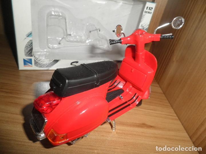 Motos a escala: SCOOTER,MOTORCYCLE,NEWRAY,ESCALA 1/12,EN SU CAJA. - Foto 8 - 220518202