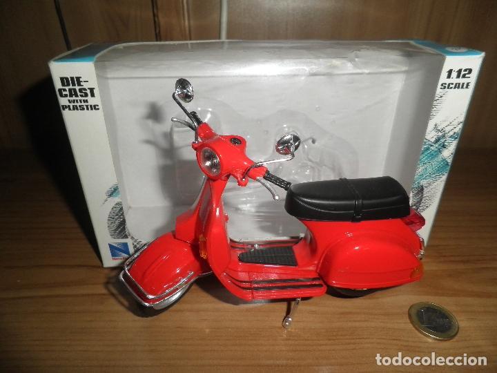 Motos a escala: SCOOTER,MOTORCYCLE,NEWRAY,ESCALA 1/12,EN SU CAJA. - Foto 9 - 220518202