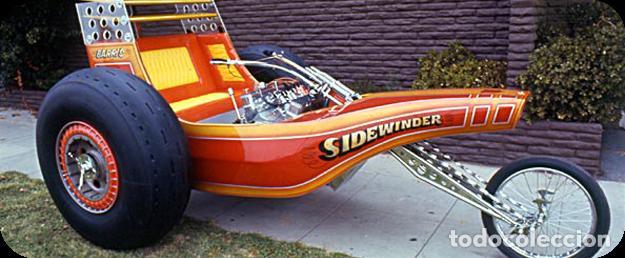 Motos a escala: SIDEWINDER TRIKE DIECAST C501 1975 GEORGE BARRIS BATMOVIL ATENCION PIEZA UNICA LEER - Foto 8 - 220955318