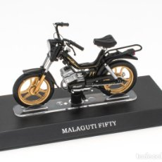 Motos a escala: MALAGUTI FIFTY MOBYLETTE COLLECTION 1/18 LEO MODELS. Lote 221368903
