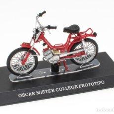 Motos a escala: OSCAR MISTER COLLEGE PROTOTIPO MOBYLETTE COLLECTION 1/18 LEO MODELS. Lote 221368913