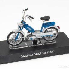 Motos in scale: GARELLI GULP 50 FLEX MOBYLETTE COLLECTION 1/18 LEO MODELS. Lote 221368923