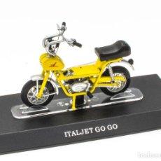 Motos a escala: ITALJET GO GO MOBYLETTE COLLECTION 1/18 LEO MODELS. Lote 221368933