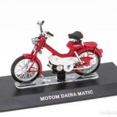 Motos a escala: MOTOM DAINA MATIC MOBYLETTE COLLECTION 1/18 LEO MODELS. Lote 221368943