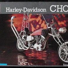 Motos a escala: HARLEY DAVIDSON CHOPPER - MAQUETA REVELL 7928 - ESCALA 1/8 -. Lote 221569840