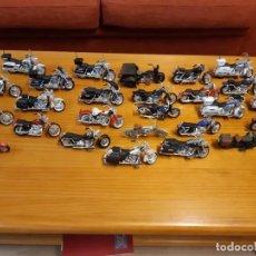 Motos in scale: COLECCIÓN 26 MOTOS HARLEY DAVIDSON DE MAISTO.ESCALA 1/18. Lote 222233805