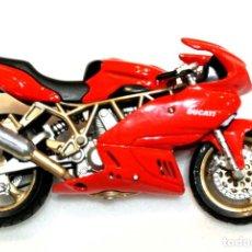 Motos a escala: MOTOCICLETA DUCATI SUPERSPORT 900, EDICION MAISTO , ESCALA 1:18, 1/18, NO A SIDO RODADA. Lote 223129975