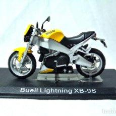 Motos a escala: MOTOCICLETA BUELL LIGHTNING XB-9S, ESCALA 1:24 , 1/24 , ALTAYA, NUNCA A SIDO RODADA. Lote 223298491