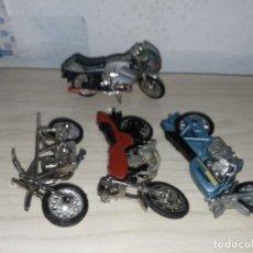 Motos a escala: MOTOS MINIATURAS DE METAL. Lote 223934305