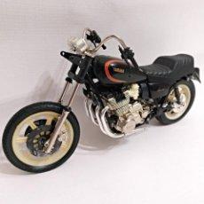 Motos a escala: MOTO YAMAHA GUILOY 38,5 CM MADE IN SPAIN PARA DESPIECE O RESTAURAR.. Lote 226803930