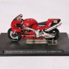 Motos a escala: MOTO A ESCALA - HONDA VTR 1000 W. COSTES - S. CHARPENTIER - S. GIMBERT 2000 - MOTOCICLETA. Lote 226986715