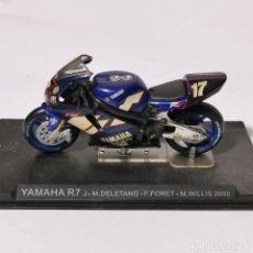 Motos a escala: MOTO A ESCALA - YAMAHA R7 - J-M.DELETANG - F.FORET - M.WILLIS 2000 - MOTOCICLETA. Lote 226986885