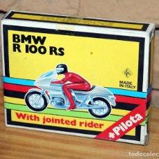 Motos in scale: KIT MOTO MONTABLE MOTO BMW R 100 RS - GRISONI CGGC - ITALY - PILOTA - REF.397 - AÑOS 70 - NUEVO. Lote 227649950