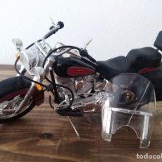 Motos a escala: MOTO ESCALA 1:18 GULOY AMERICAN CUSTOM CLASSIC MAQUETA NO HARLEY MOTERO. Lote 227682355