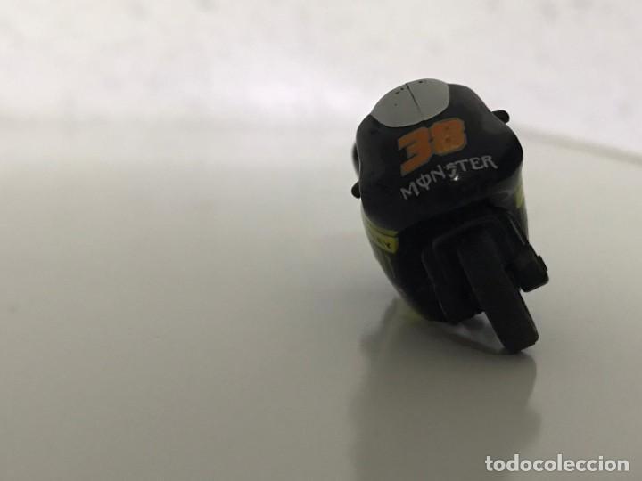 Motos a escala: 4 MICROMOTOS RUEDA DE INERCIA- MOTO GP - REPSOL - STSNLEY MONSTER - WARRIOR - Foto 10 - 228518540