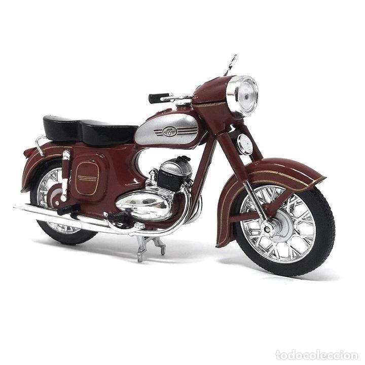 JAWA 354-04 1:24 MOTO IXO ATLAS DIECAST (Juguetes - Motos a Escala)