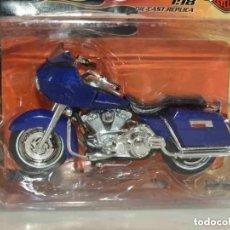 Motos a escala: MOTO HARLEY DAVISON ESCALA 1/18 DE MAISTO A ESTRENAR. Lote 235581915