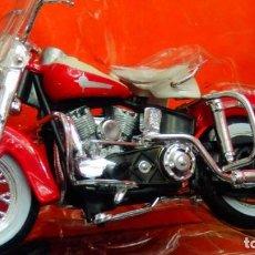 Motos a escala: MOTO HARLEY DAVISON ESCALA 1/18 DE MAISTO A ESTRENAR. Lote 235585445