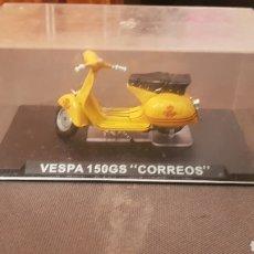 Motos a escala: MOTO VESPA 150GS CORREOS. Lote 237008830