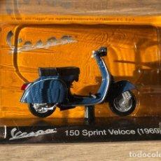 Motos a escala: VESPA 150 SPRINT VELOCE -1969 - VESPA COLLECTION RBA, 1/18. Lote 237666300