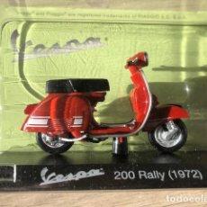 Motos a escala: VESPA 200 RALLY -1972 - VESPA COLLECTION RBA, 1/18. Lote 237666540