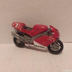 Motos a escala: MOTOR ROJA INCOMPLETA YAMAHA , GUISVAL .VER FOTOS. Lote 238475495