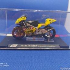 Motos a escala: HONDA RS250RW ANDREA DOVIZIOSO (2005). Lote 238632855