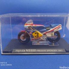 Motos a escala: HONDA NS500 FREDDIE SPENCER (1983). Lote 238671260