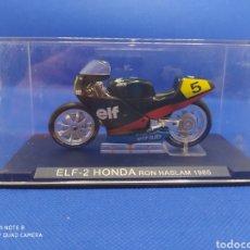 Motos a escala: ELF-2 HONDA RON HASLAM(1985). Lote 238672630