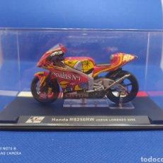 Motos a escala: HONDA RS250RW JORGE LORENZO (2005). Lote 238673380