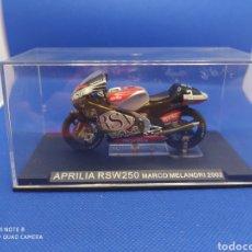 Motos a escala: APRILIA RSW250 MARCO MELANDRI (2002). Lote 238673680