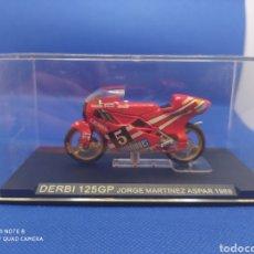 Motos a escala: DERBI 125GP JORGE MARTÍNEZ ASPAR (1988). Lote 238674685