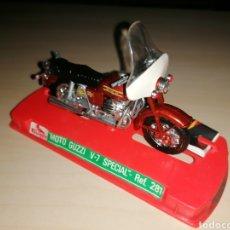 Motos a escala: ANTIGUA MOTO A ESCALA GUILOY - MOTO GUZZI V-7 SPECIAL - NUEVA¡¡. Lote 239841965