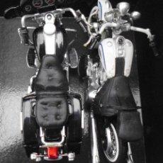 Motos a escala: LOTE DE 2 MOTOS DE LA CASA MAISTO MIRA LAS FOTOS PARA VER MEDIDAS NO SE SU ESCALA. Lote 240022925