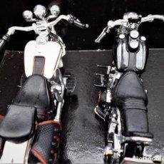 Motos a escala: LOTE DE 2 MOTOS DE LA CASA MAISTO MIRA LAS FOTOS PARA VER MEDIDAS NO SE SU ESCALA. Lote 240023650