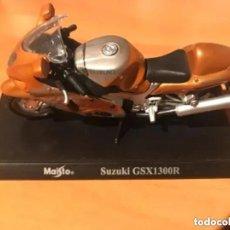 Motos a escala: MOTO SUZUKI GSX1300R MAISTO. Lote 241165085