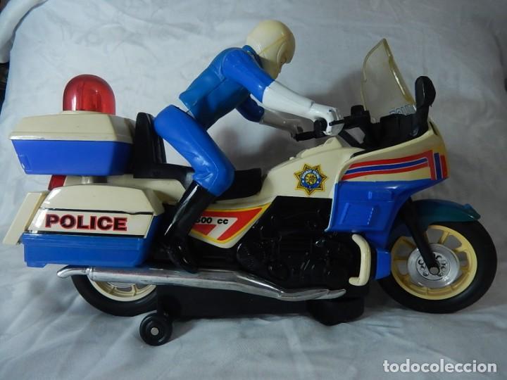 MOTO DE POLICÍA. CAPITAL CITY WASHINGTON D.C. SIN MÁS DATOS. (Juguetes - Motos a Escala)