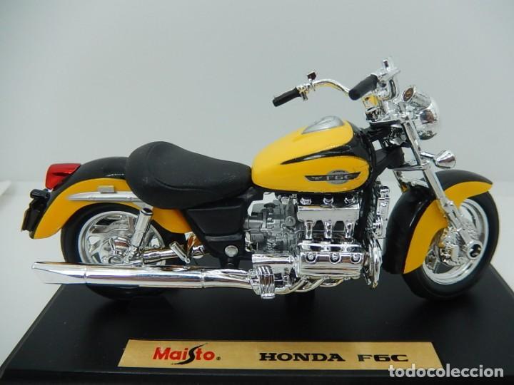 MOTO / MOTOCICLETA. HONDA F6C. MAISTO. ESCALA 1:18. (Juguetes - Motos a Escala)