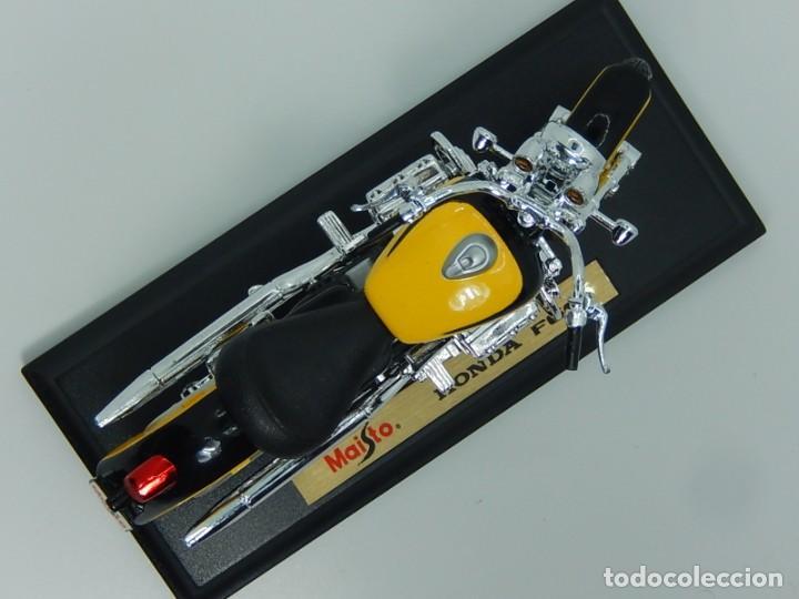 Motos a escala: Moto / Motocicleta. Honda F6C. Maisto. Escala 1:18. - Foto 5 - 241427840