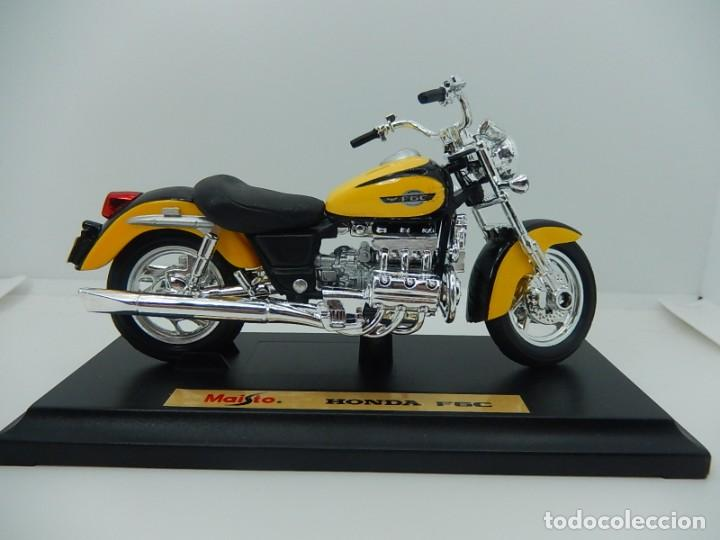 Motos a escala: Moto / Motocicleta. Honda F6C. Maisto. Escala 1:18. - Foto 13 - 241427840