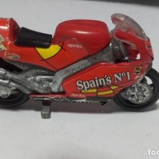 Motos in scale: ANTIGUA MOTO APRILIA DE ALUMINIO / DE COLECCION. Lote 241192985